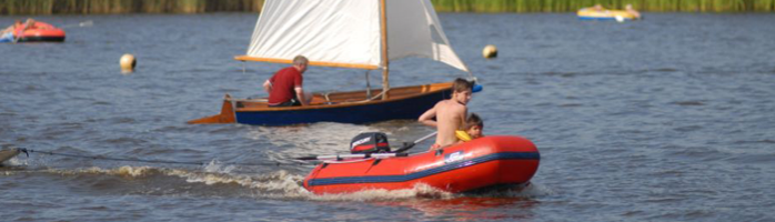 Watersport-zeilboot