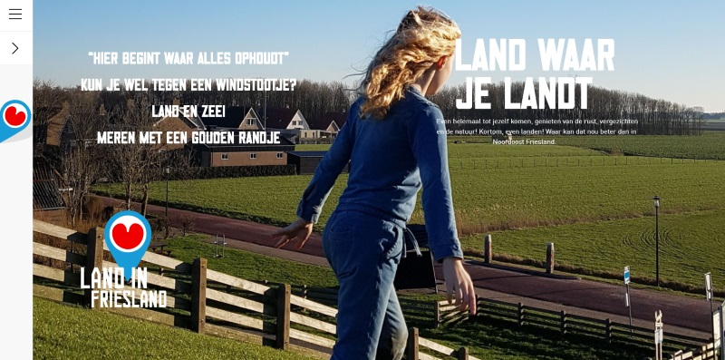 Magazine land in Friesland